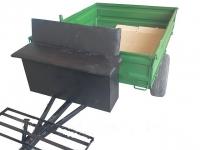 Прицеп для мотоблока под жигулевские ступицы (без колес)