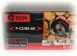 Пила дисковая Edon P-CS 185-68