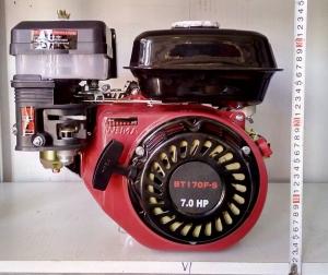 Бензиновый двигатель Weima BT170F-S (шпонка, вал 20мм), 7,0 л.с.