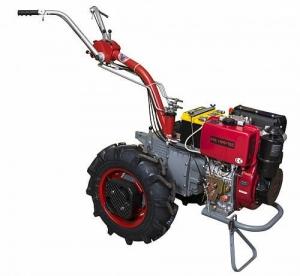 Мотоблок Мотор Сич МБ-9ДЕ с дизельным двигателем Weima WM186FBP, электро стартер