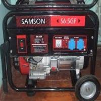 Бензиновый генератор Samson S6.0GF (6.0KW)