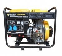 Дизельный генератор Forte FGD 6500EW с стартером