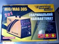 Сварочный инверторный полуавтомат KAISER MIG/MAG-305 2в1