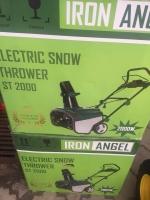 Электро снегоуборщик Iron Angel ST 2000